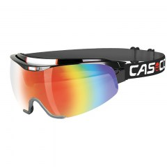 CASCO SPIRIT CARBONIC  black-rainbow, brýle na běžky