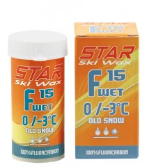 STAR F15 WET FLUOR POWDER, 0°C až -3°C