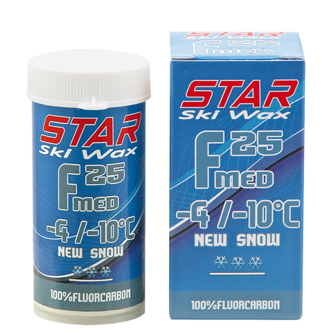STAR F25 MED FLUOR POWDER, -4°C až -10°C